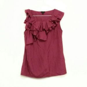 Ann Taylor Size XS Pink Blouse